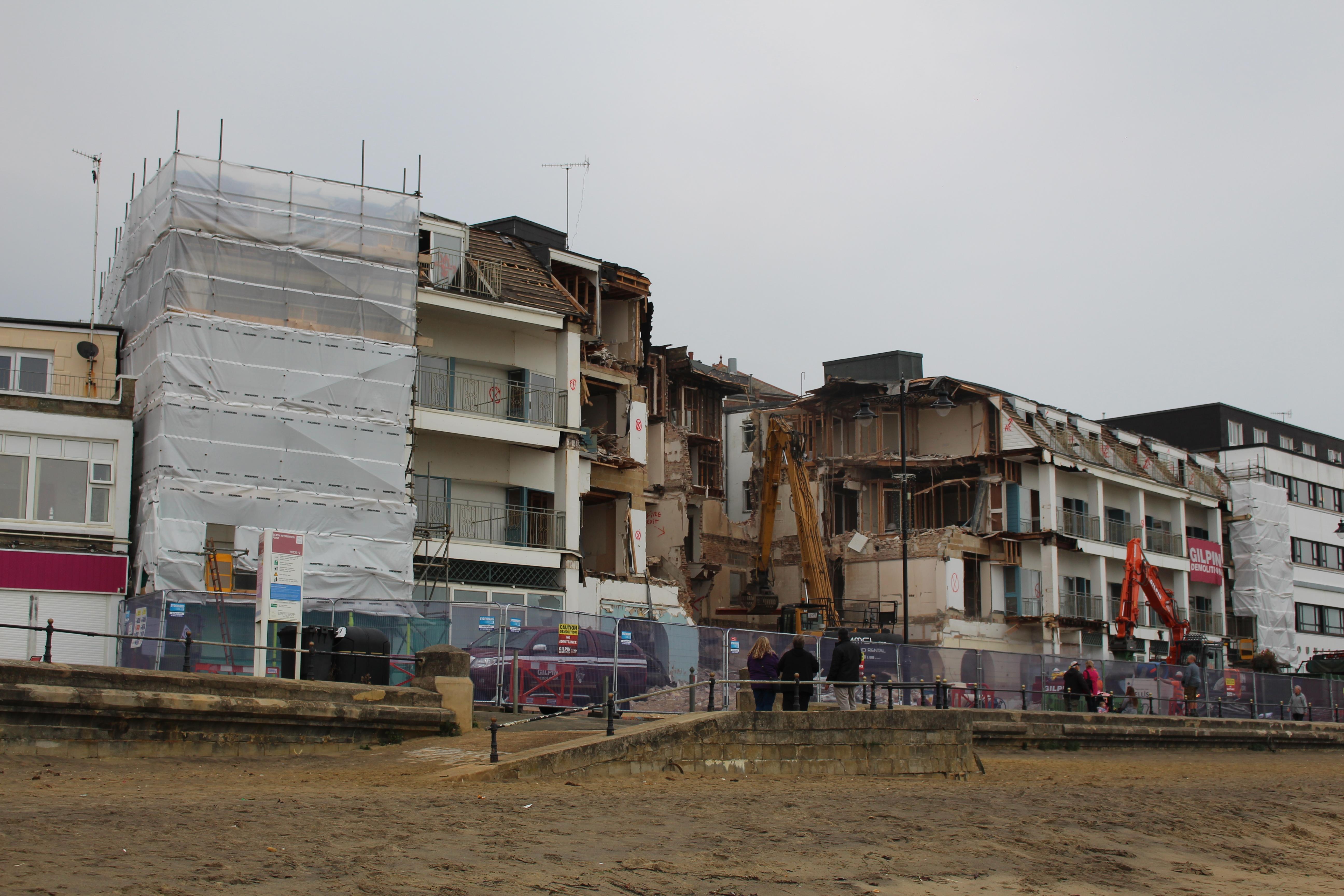 File Sandown Carlton Hotel Demolition Works In October 2017 6 Jpg