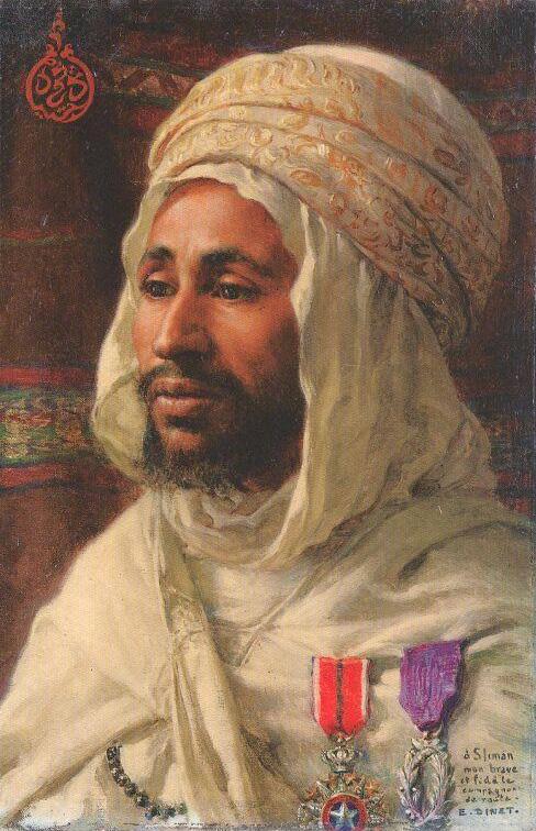 Schilderij door Nasreddine Dinet gestorven 1929.jpg