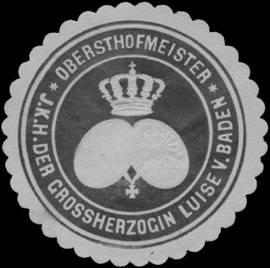 File:Siegelmarke Obersthofmeister I.K.H. der Grossherzogin Luise von Baden W0350214.jpg