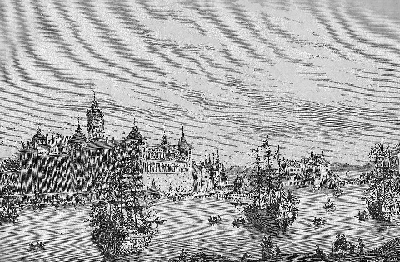File:Slottet Tre kronor under 1600-talet, sett från nö.jpg