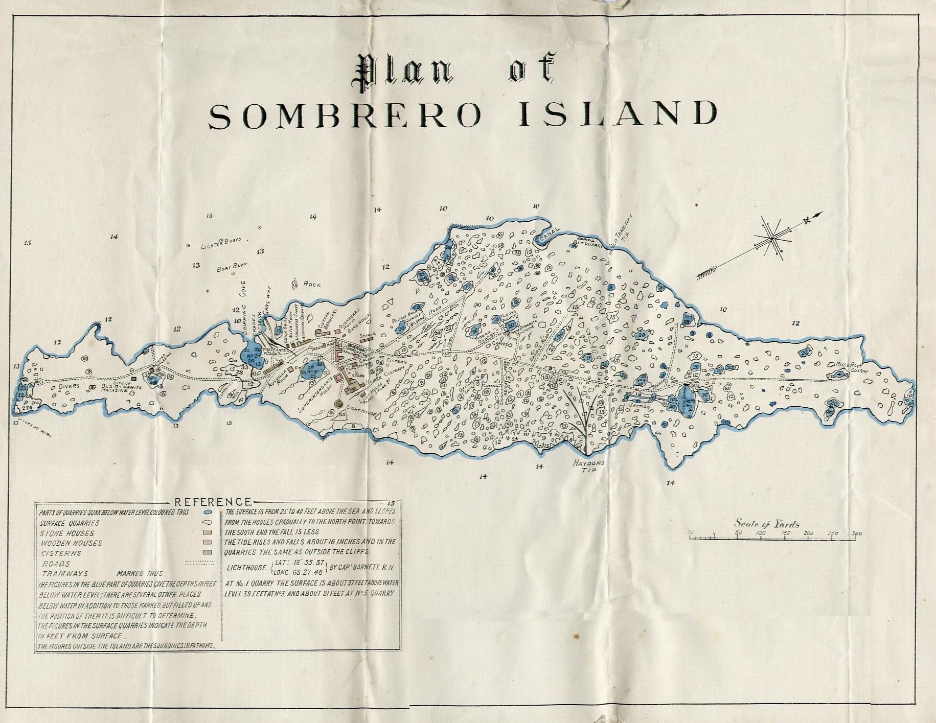 Illa Sombrero
