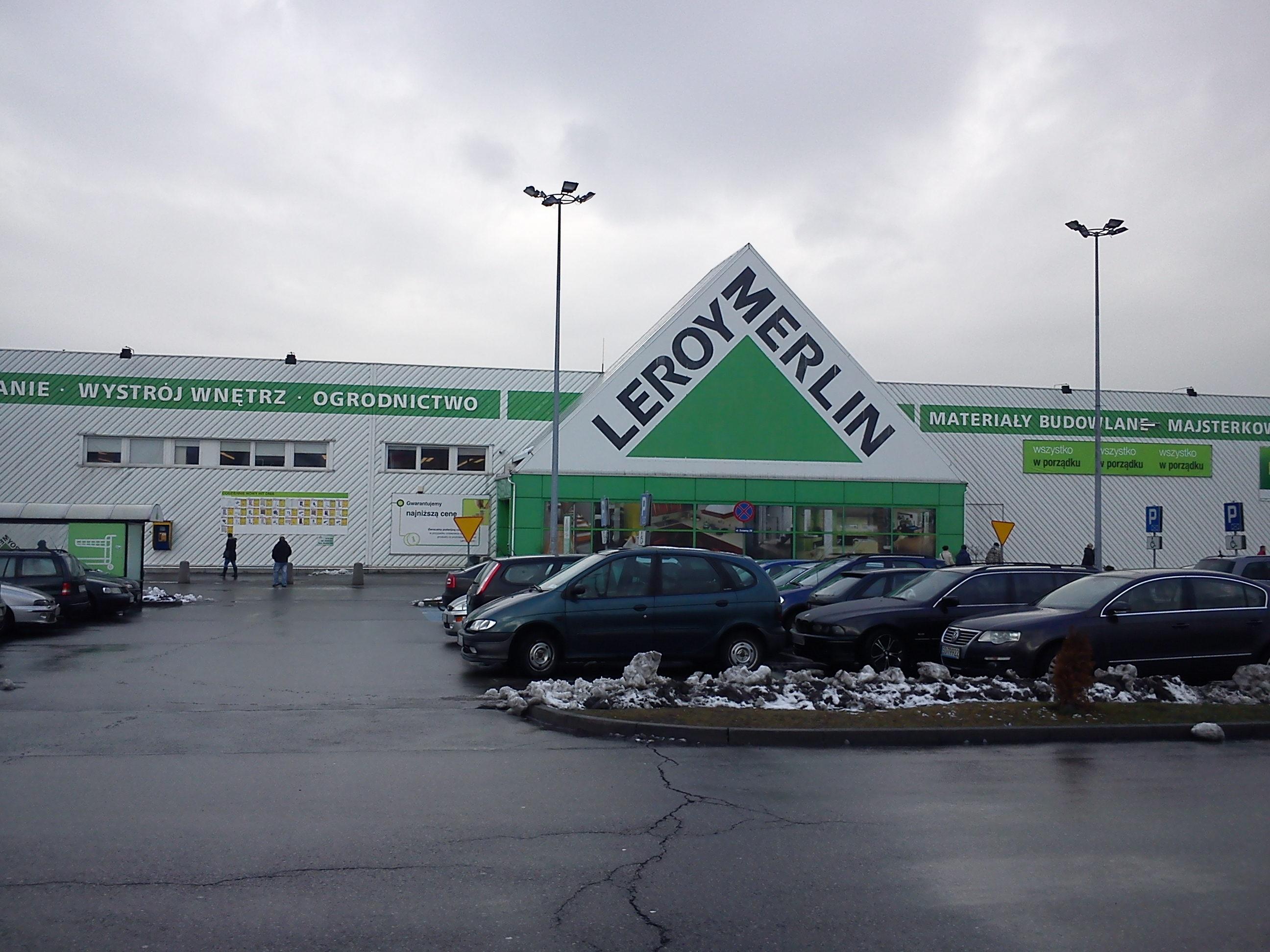File sosnowiec centrum handlowe leroy merlin jpg - Bricolage clermont ferrand ...