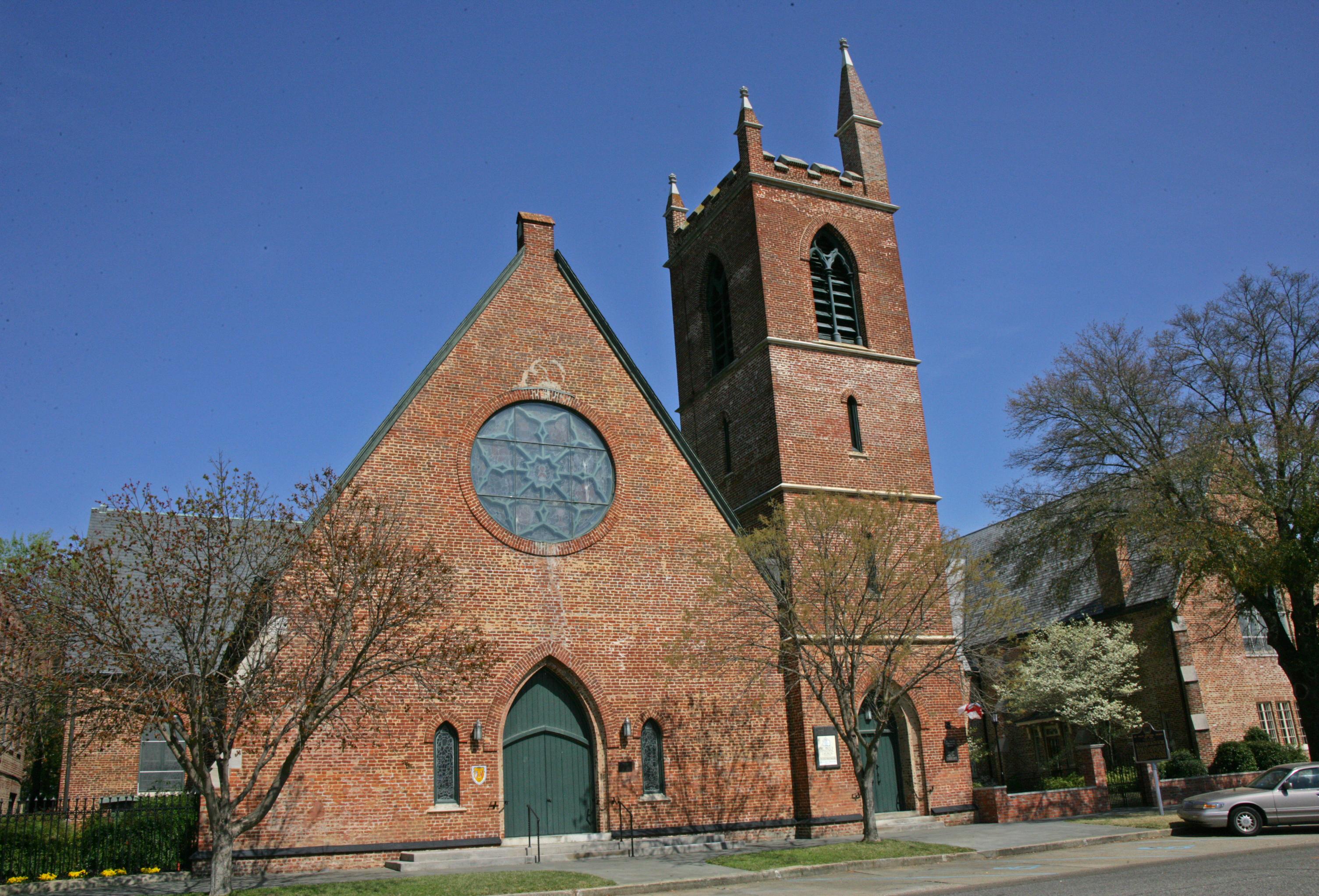 selma alabama st paul s episcopal church burned following the battle of selma and rebuilt in 1871