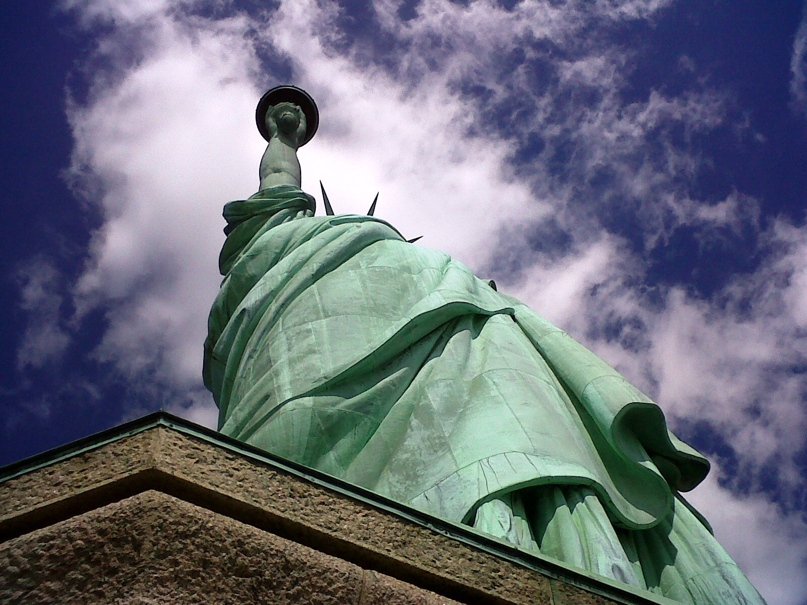 File:Statue of Liberty 2011 from pedestal.jpg - Wikimedia