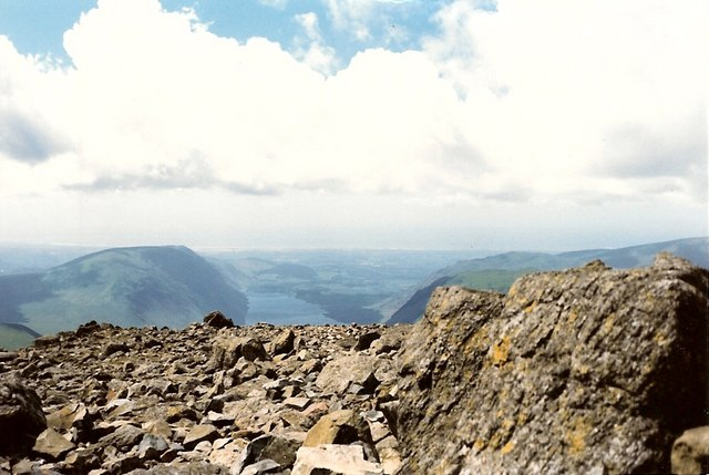 Summit of Great Gable - geograph.org.uk - 127954