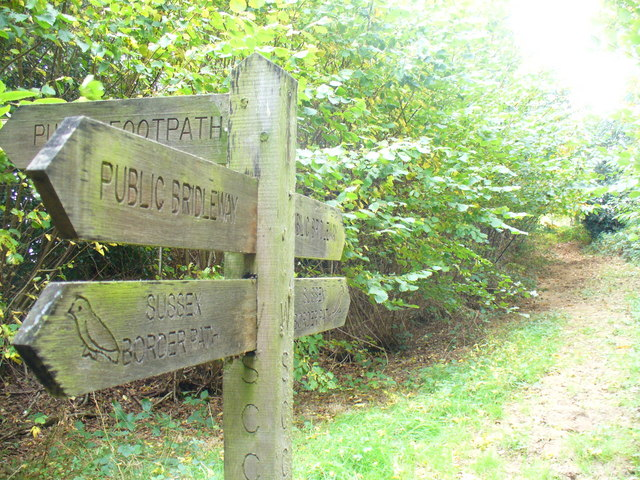 Sussex Border Path - geograph.org.uk - 1524647