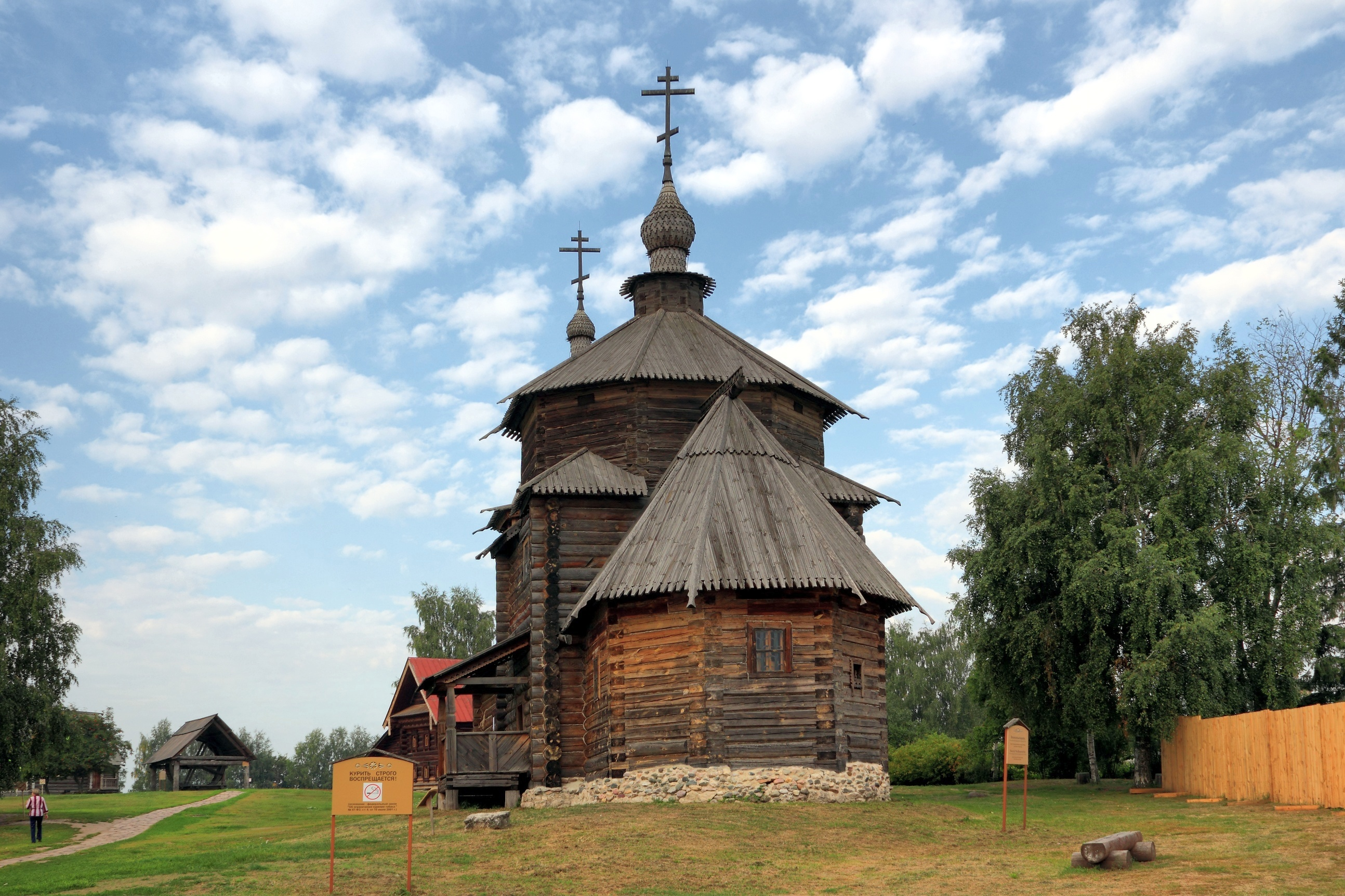 Suzdal - Museum of Wooden Architecture or the Ghost of the Dmitrievsky Pechora Monastery 64