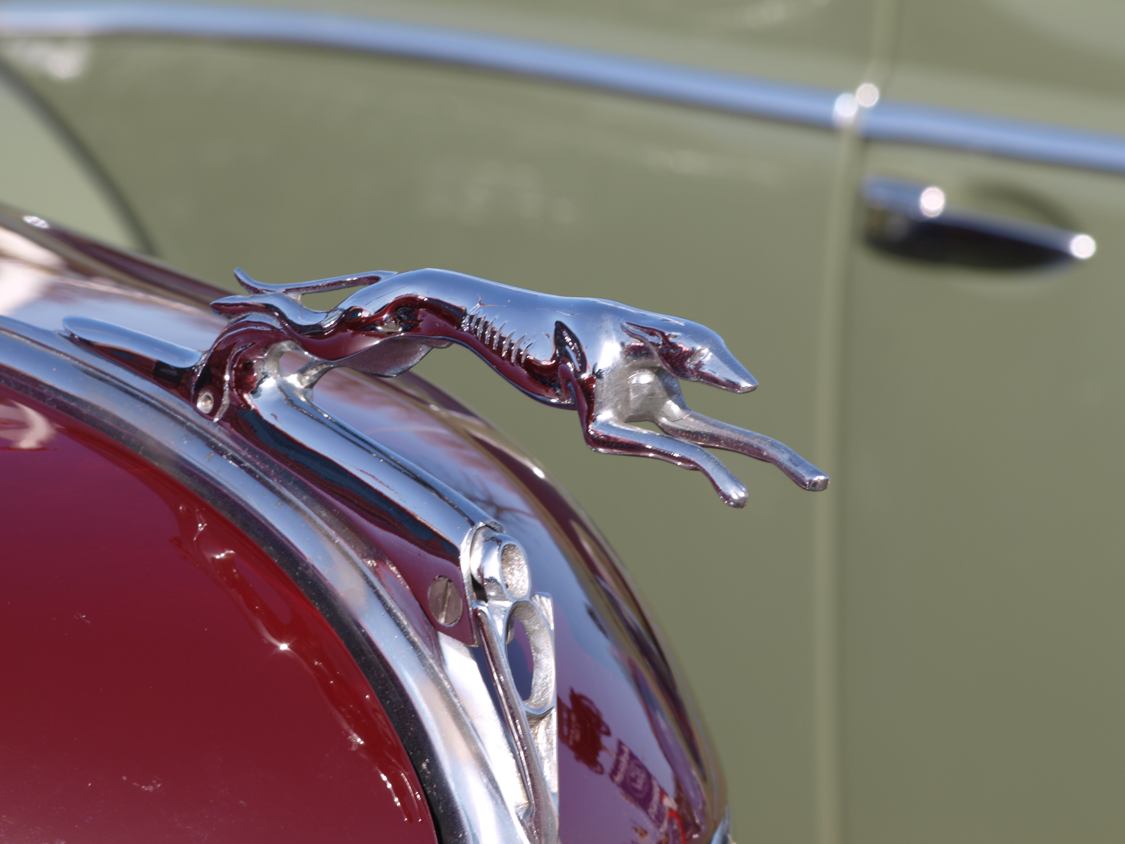 File The Classic Greyhound Hood Ornament From A 1930s Ford