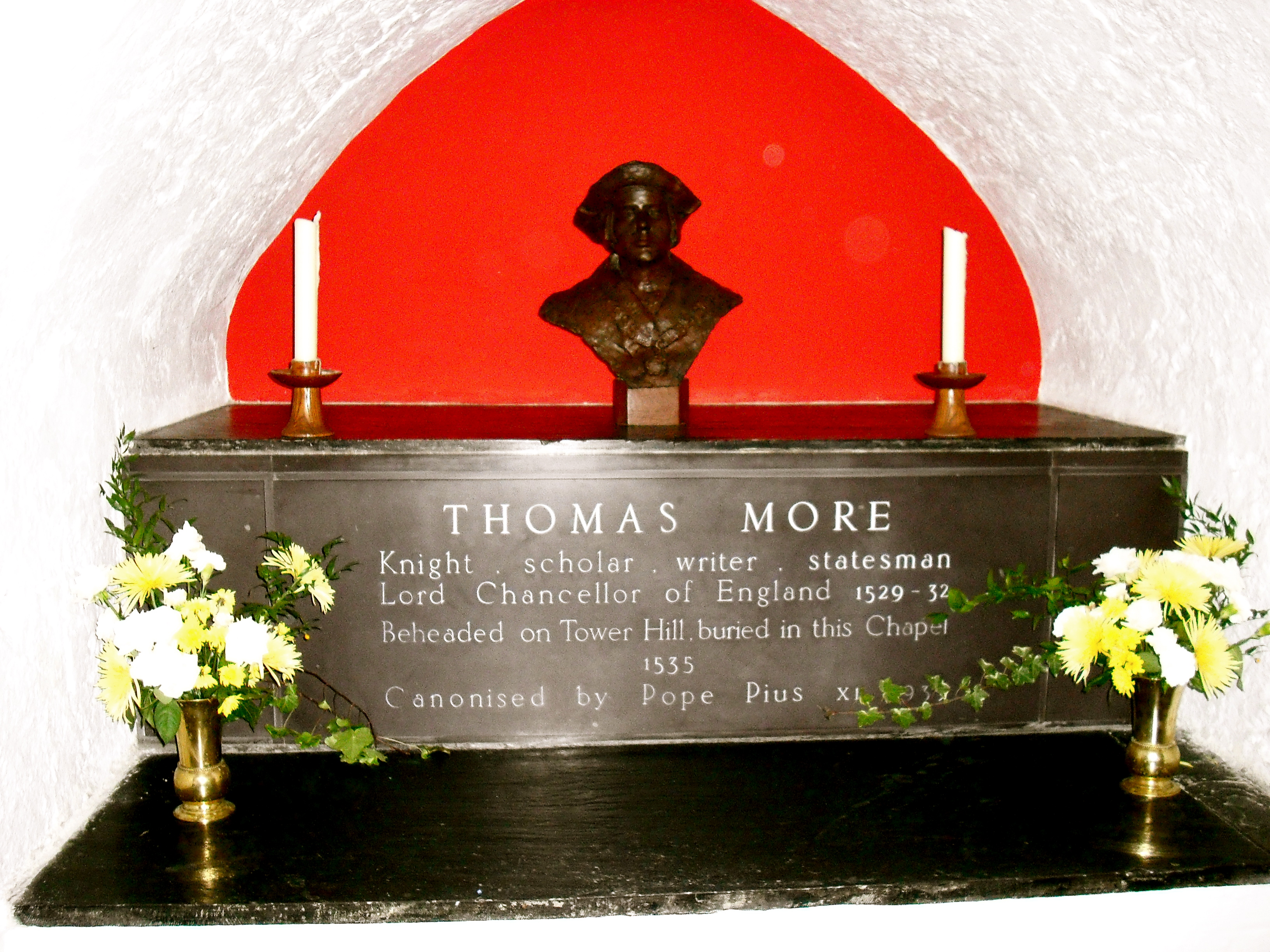 File thomas more tomb jpg wikimedia commons for More com