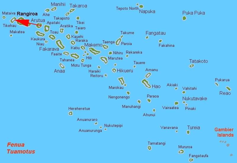 Tikehau Atoll French Polynesia  City pictures : Tikehau Locator Map Wikimedia Commons