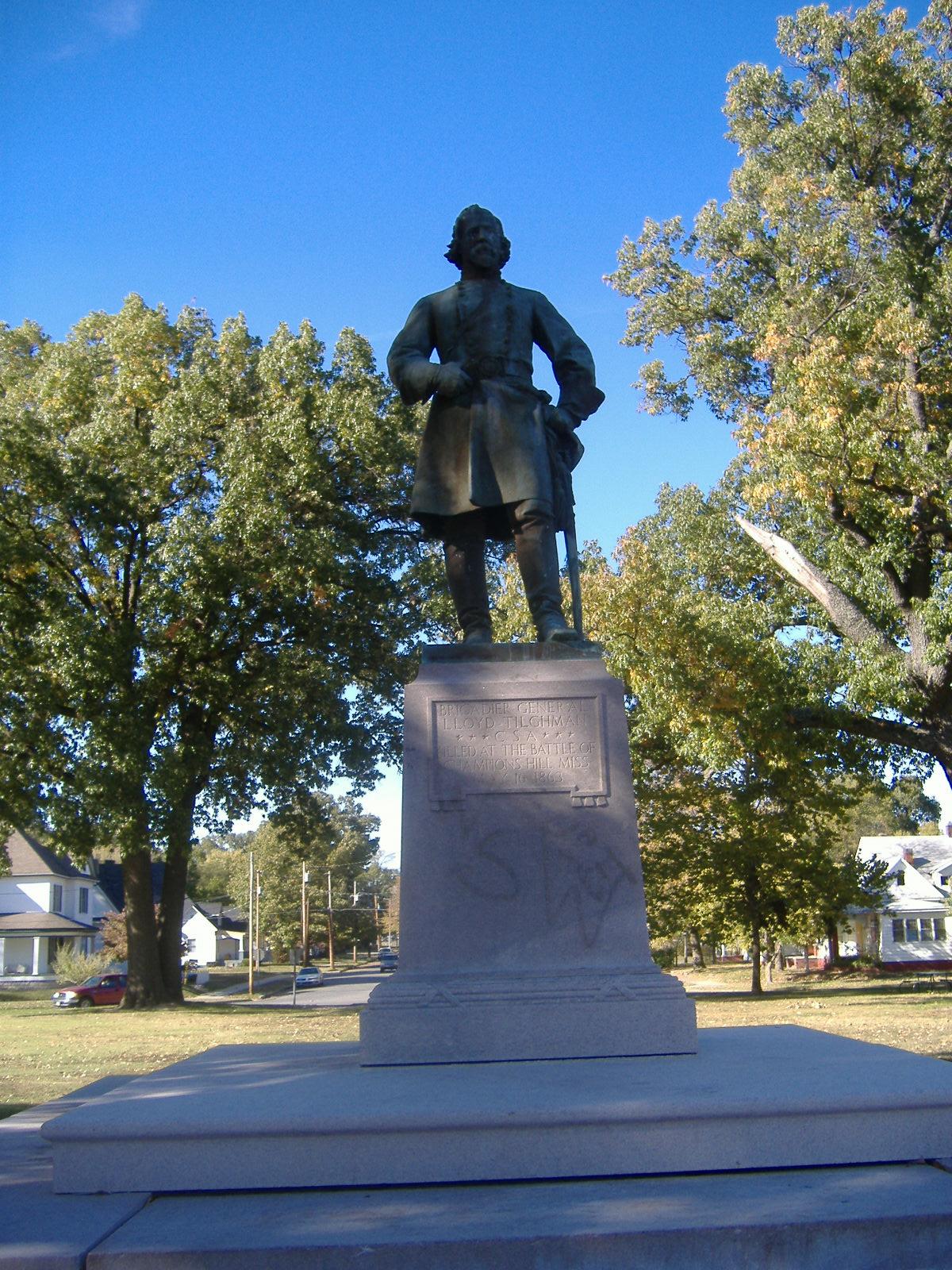 Lloyd Tilghman Memorial Wikipedia