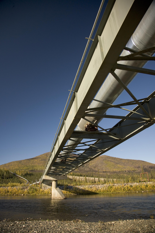 Pipeline River Crossing Pipeline Crossing South