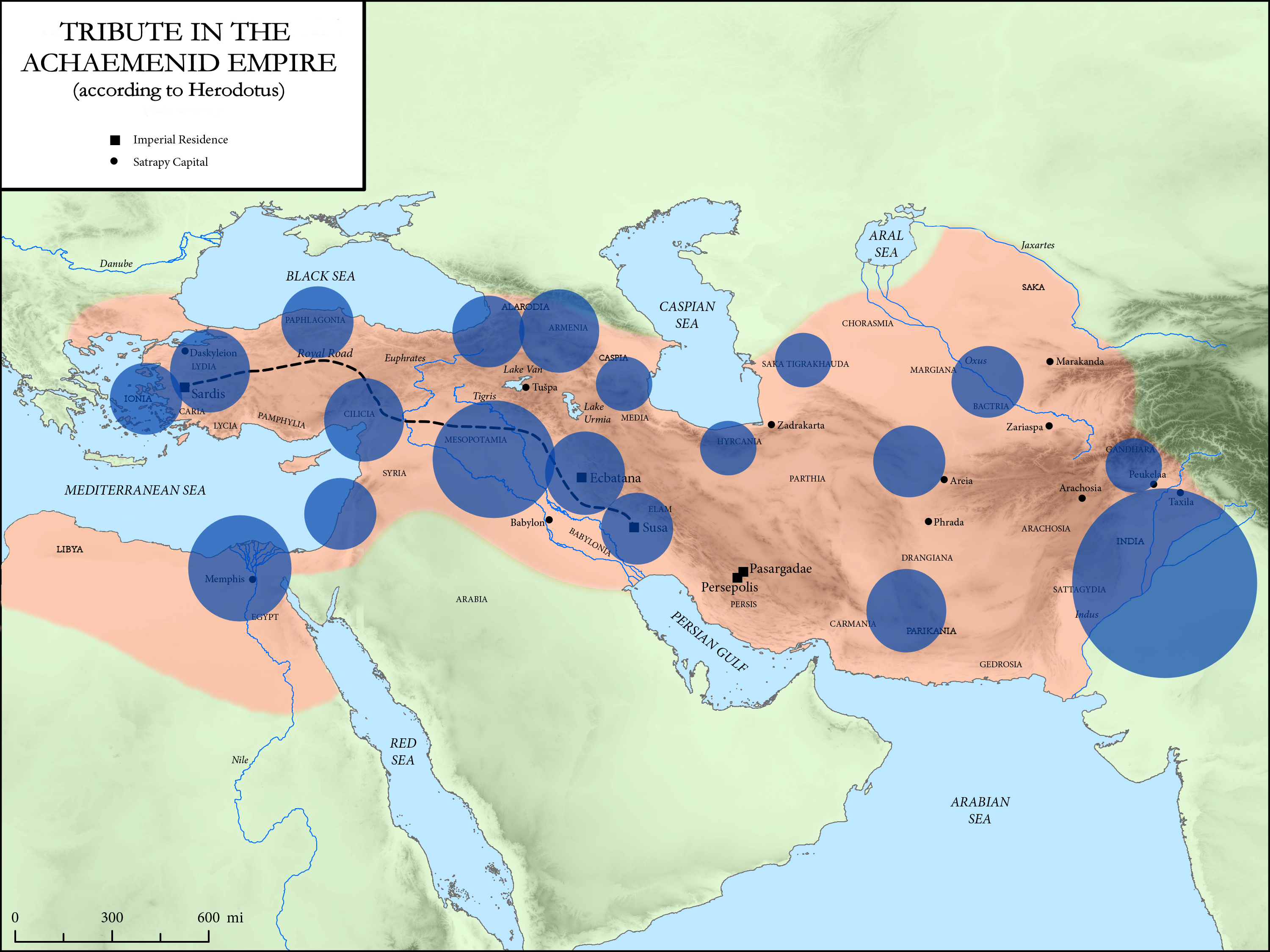 Districts Of The Achaemenid Empire Wikipedia