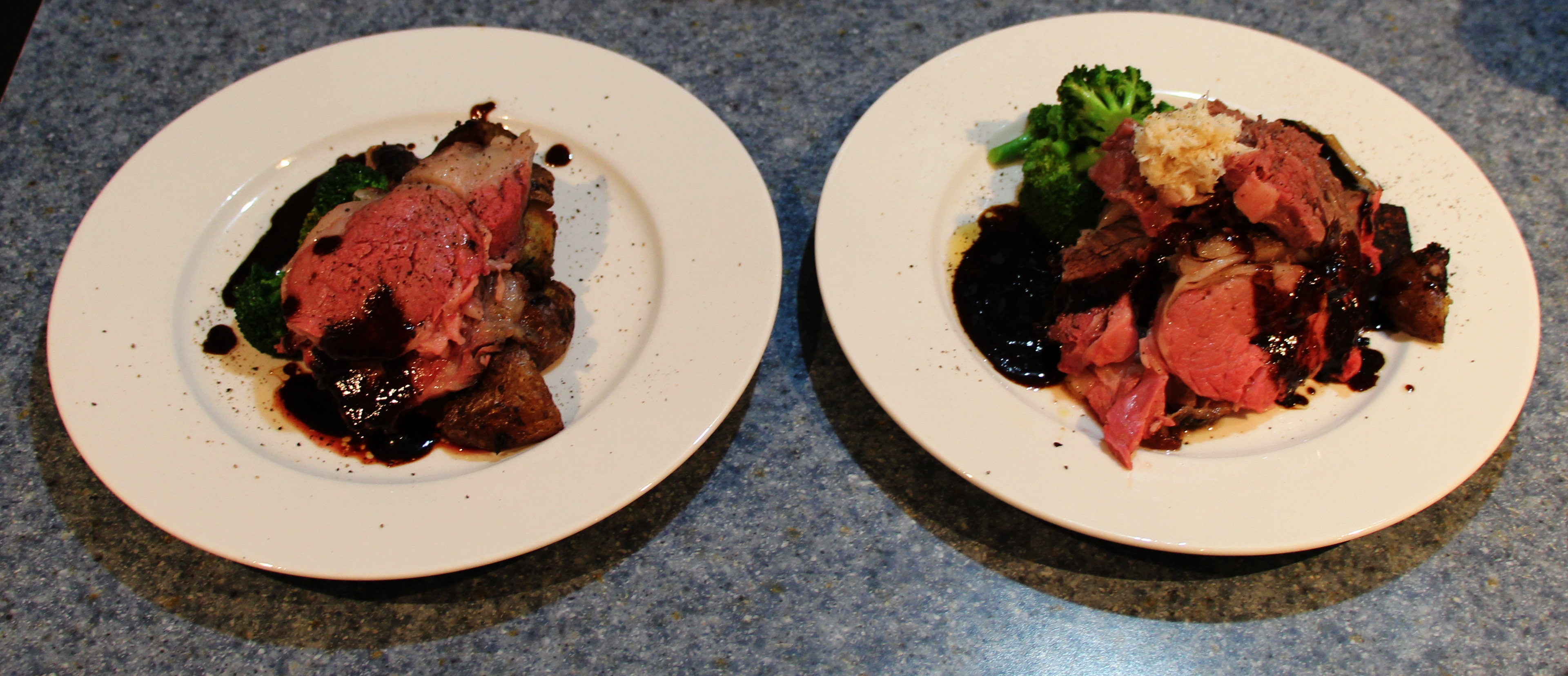 Prime Rib Time Chart: Two prime rib dinner plates.jpg - Wikimedia Commons,Chart