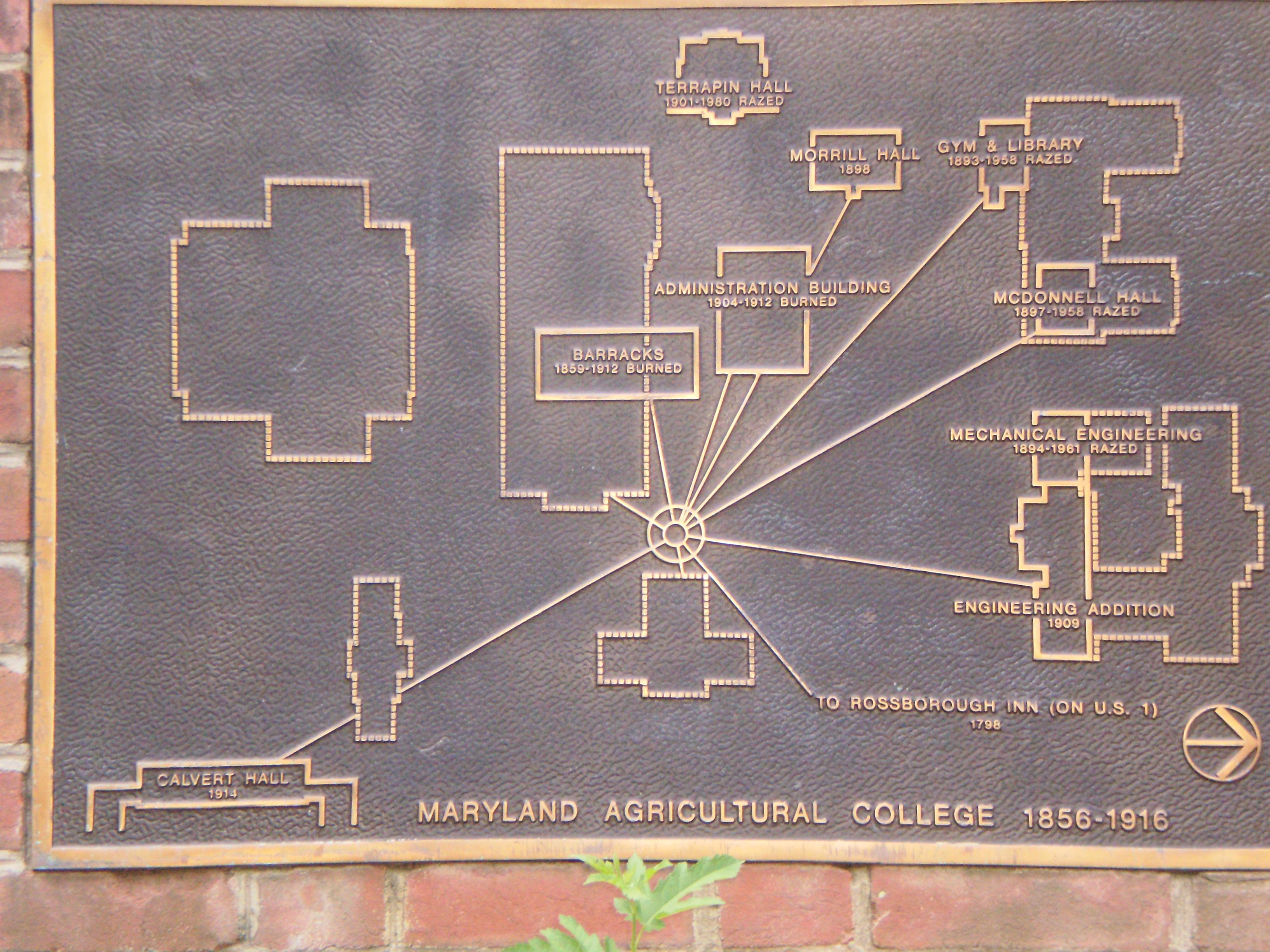 File Umd Map Of Original Campus Jpg Wikimedia Commons