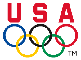 United States Olympic Committee logo.