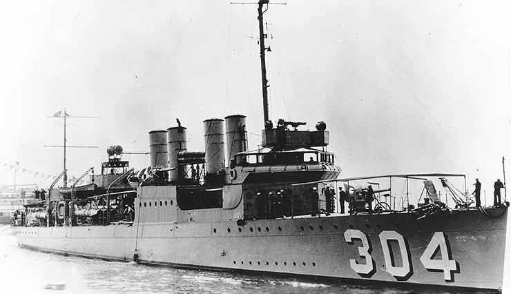 USS Farquhar (DD-304)