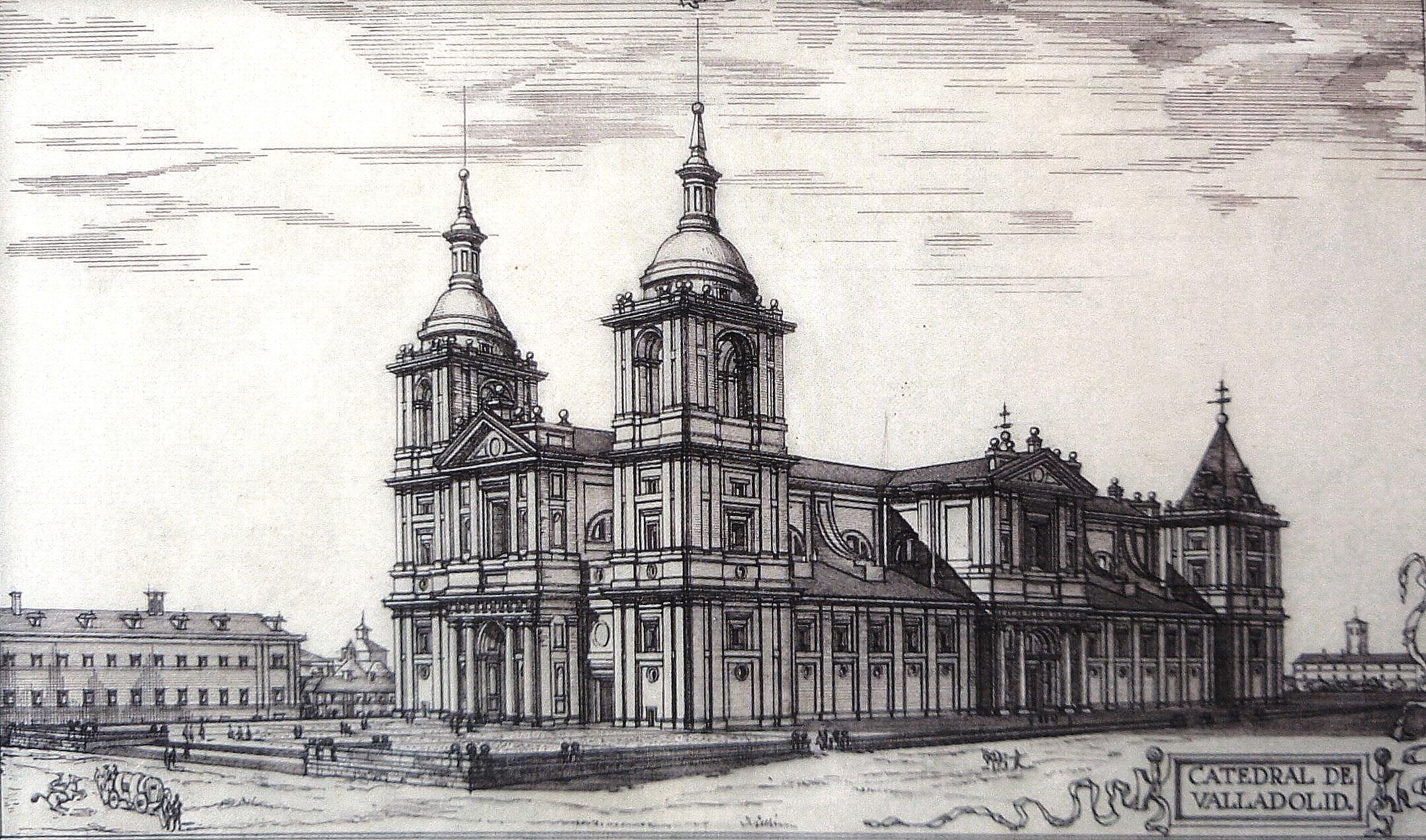Torres de la catedral de valladolid wikiwand - Escuela arquitectura valladolid ...