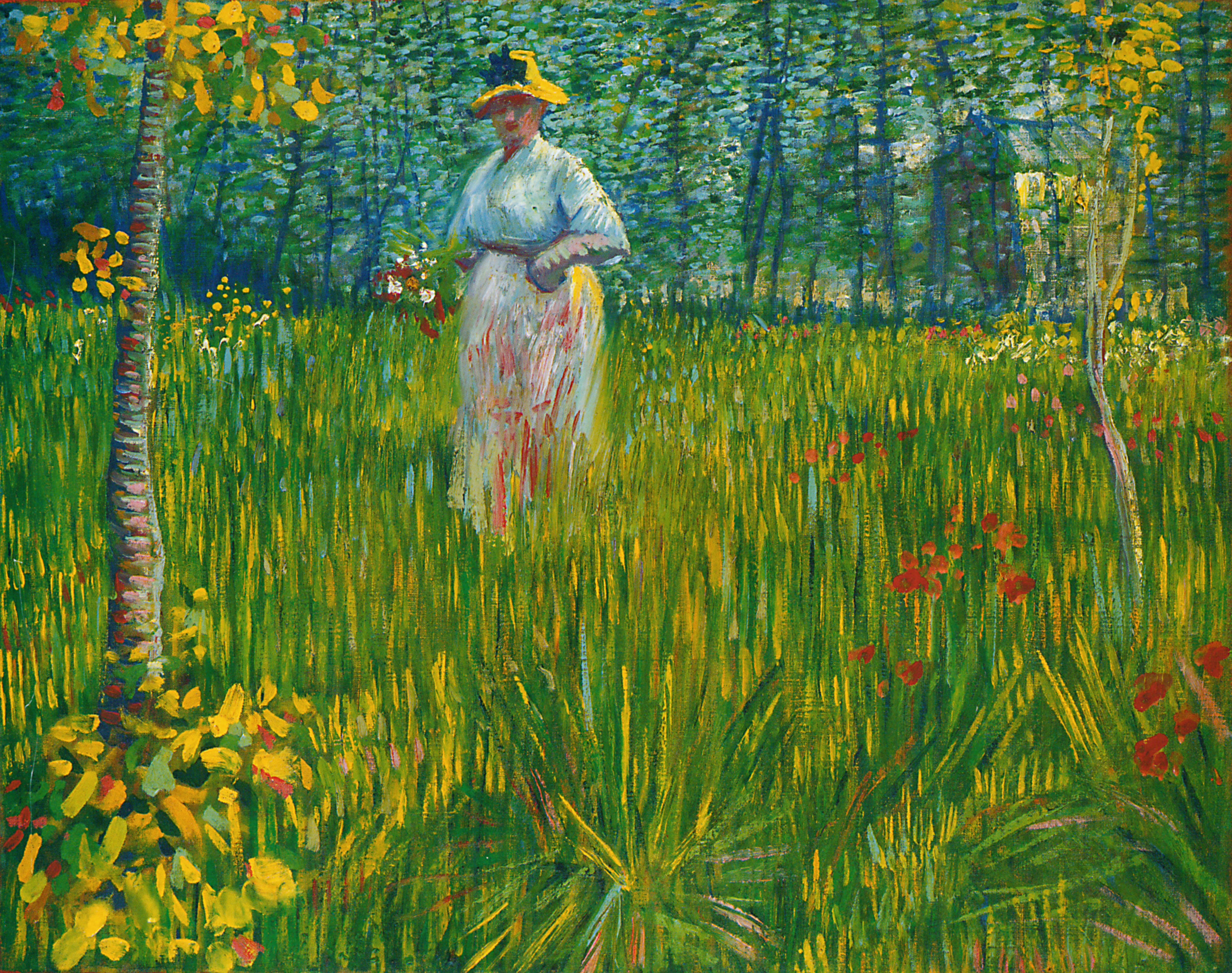File vangogh femme dans un wikimedia commons for Jardin 6