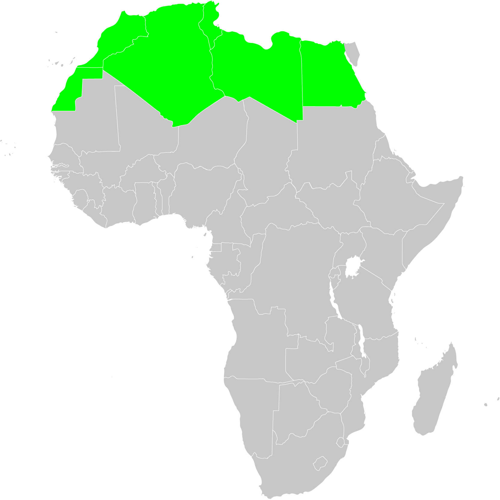 WGSRPD North Africajpg WGSRPD maps Wikimedia