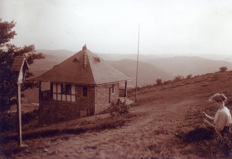 Wanderhütte Steinerberg um 1920