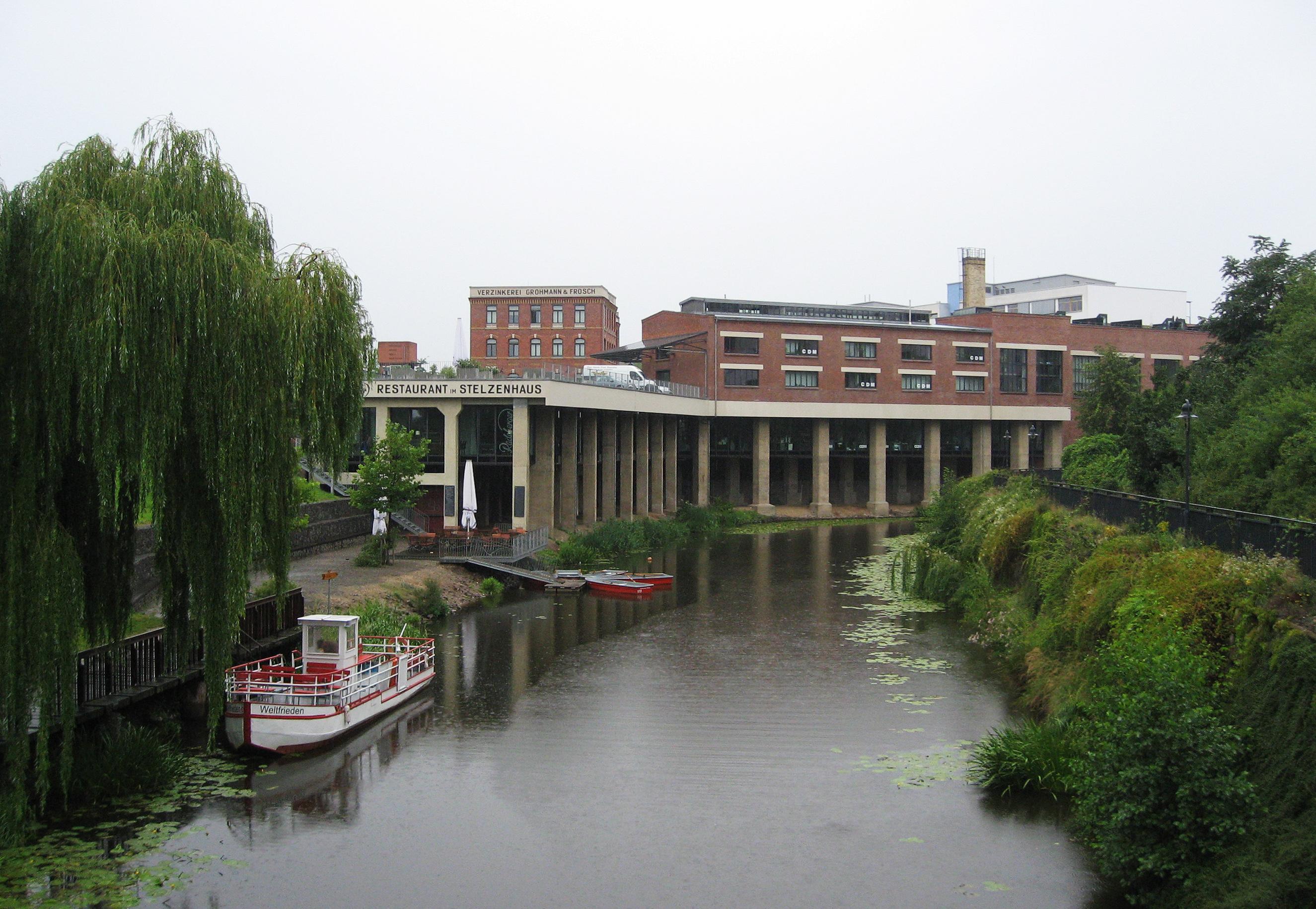 Leipzig Karl Heine Kanal