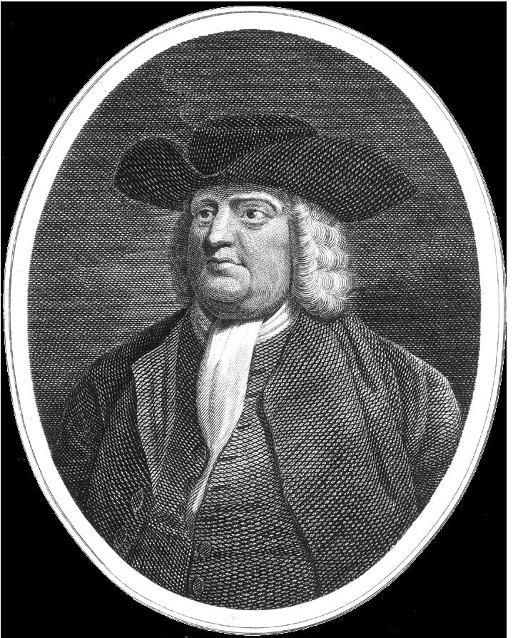 Depiction of William Penn