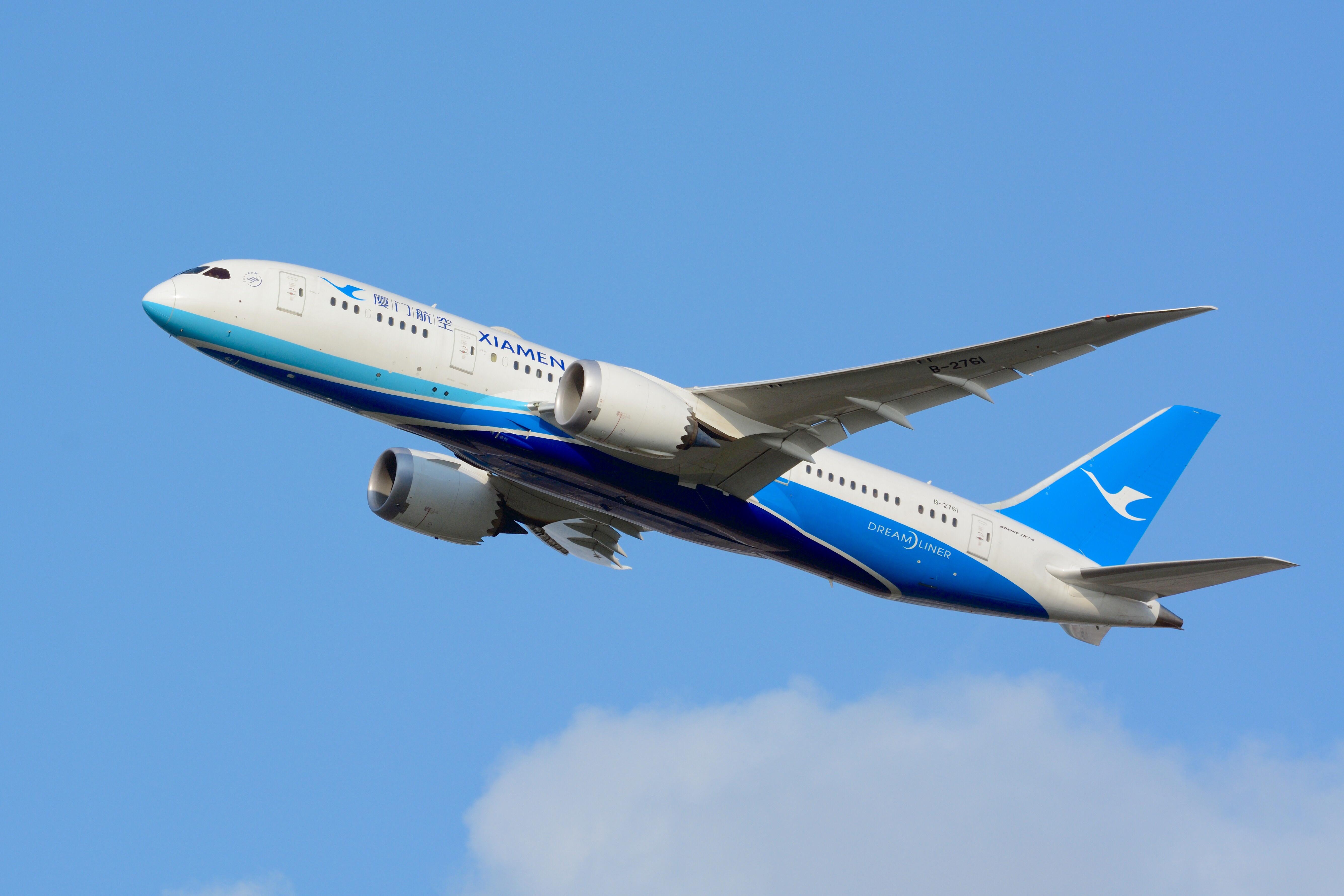 File:Xiamen Airlines, Boeing 787-8 B-2761 NRT (20229992129)
