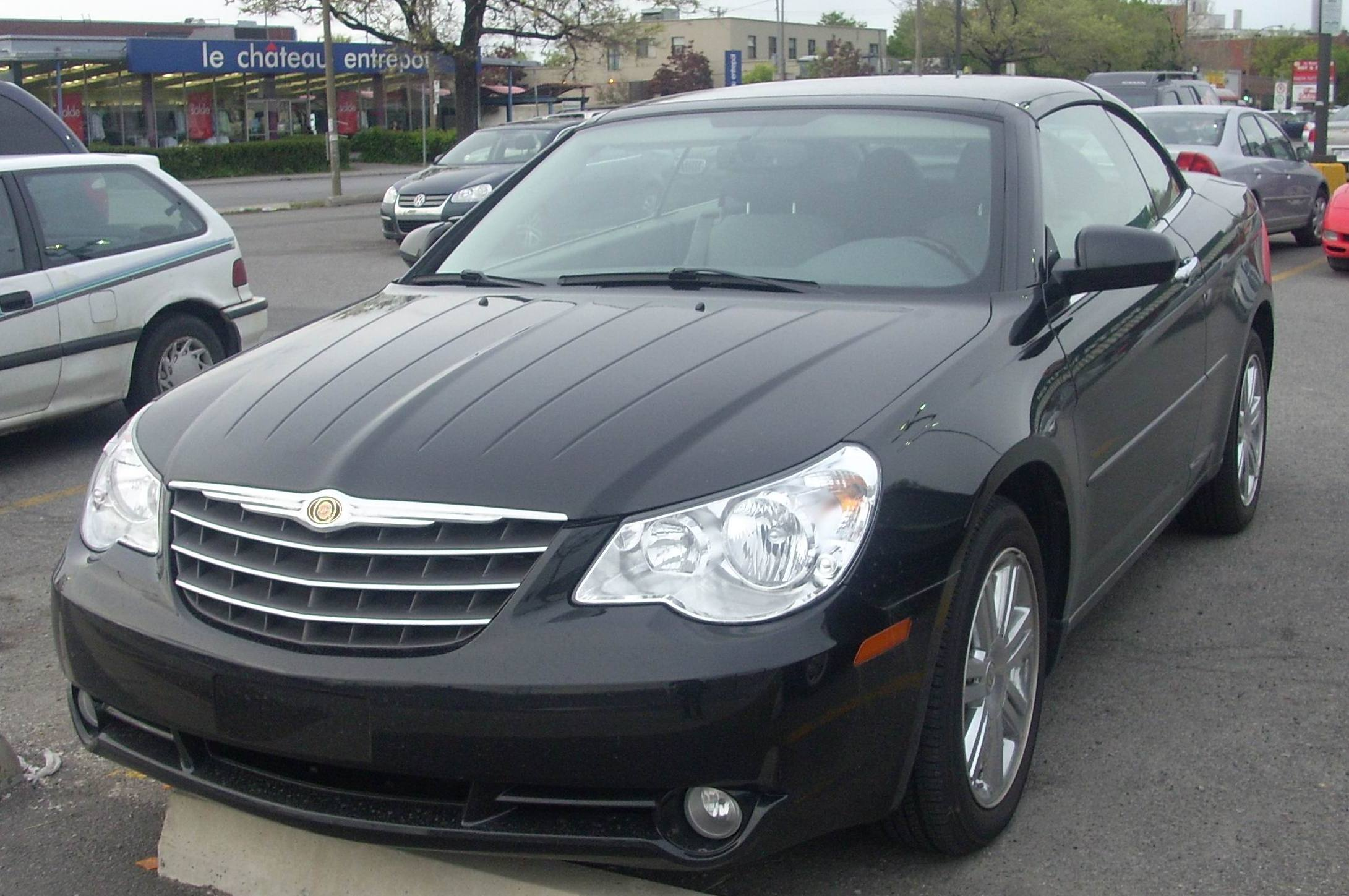 chrysler sebring convertible 2013
