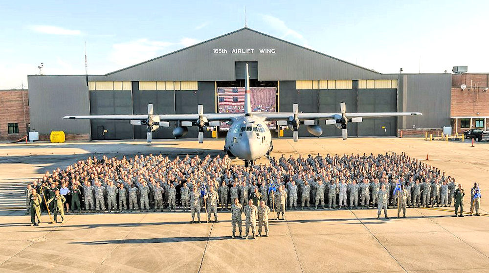 Image result for 165th Air National Guard Names First Black Female Pilot