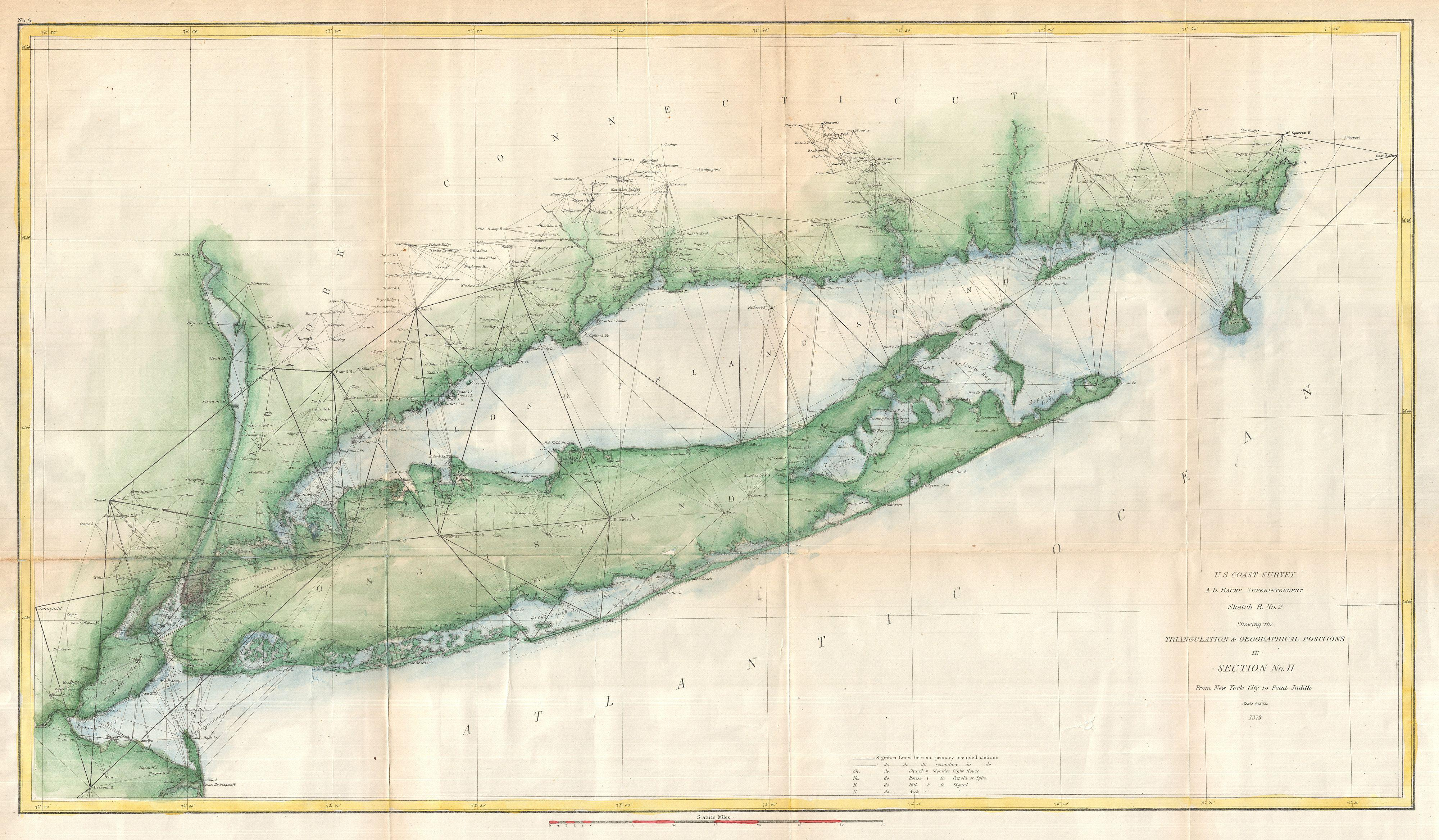 file 1873 u s coast survey chart or map of long island new york