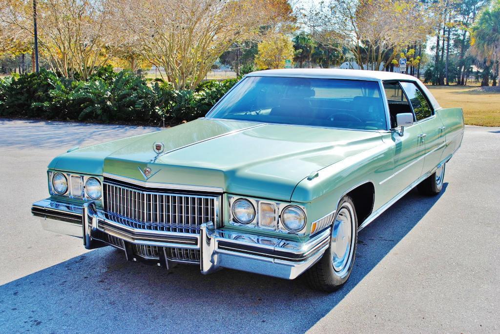 File 1973 Cadillac Sedan Deville Front2 Jpg Wikimedia