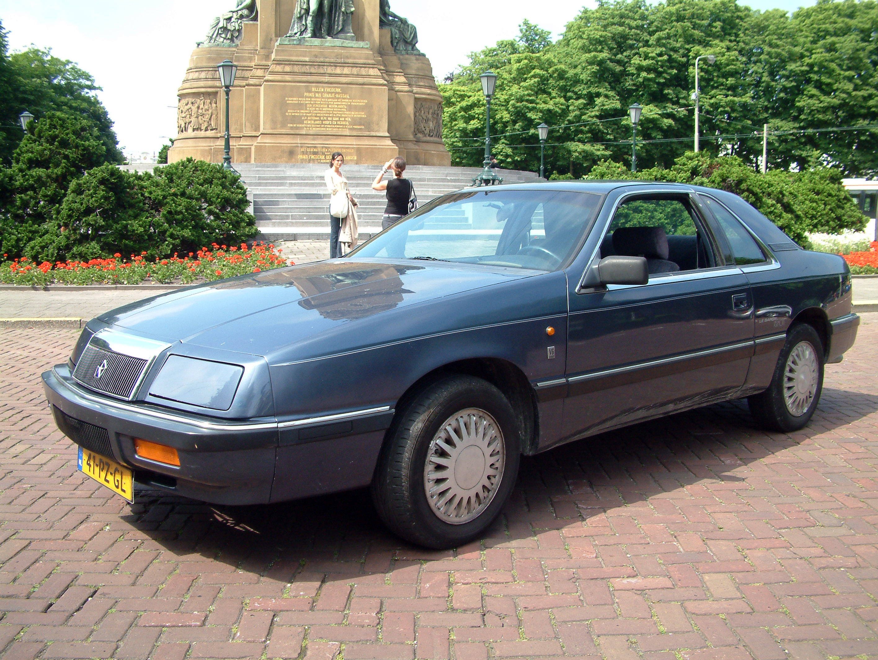 File 1991 Chrysler Lebaron Coupe Jpg Wikimedia Commons