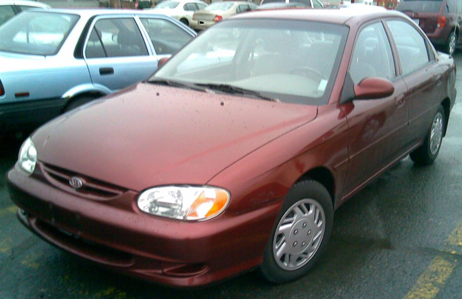 Kia Sephia Rs  2001