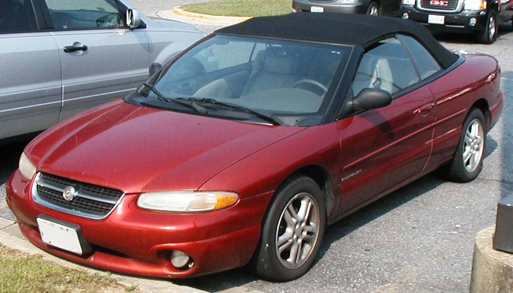 St Sebring Convertible on 2000 Dodge Stratus