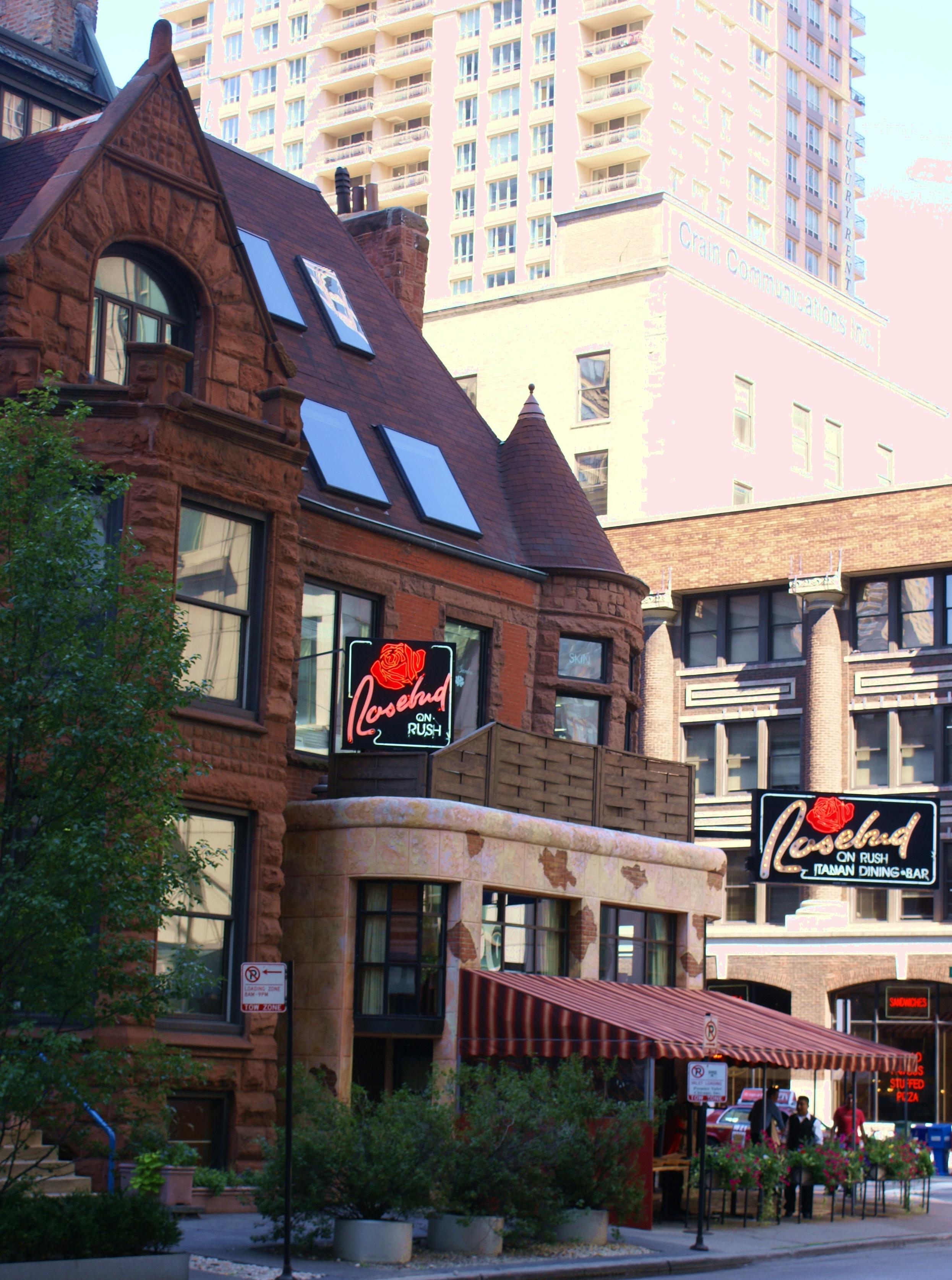 Rosebud Restaurant On Rush Street Chicago