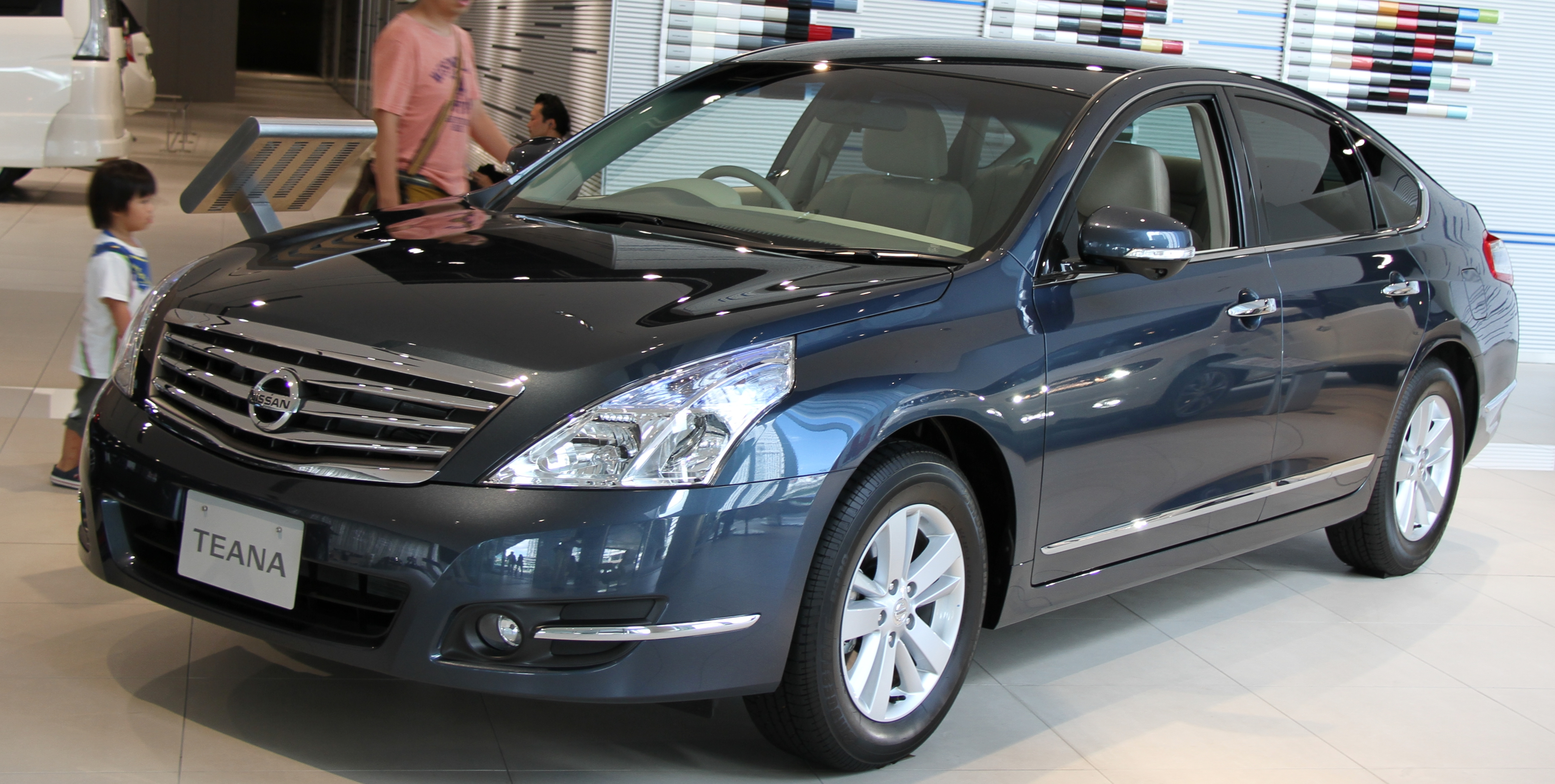 File 2012 Nissan Teana 250xl Jpg Wikimedia Commons
