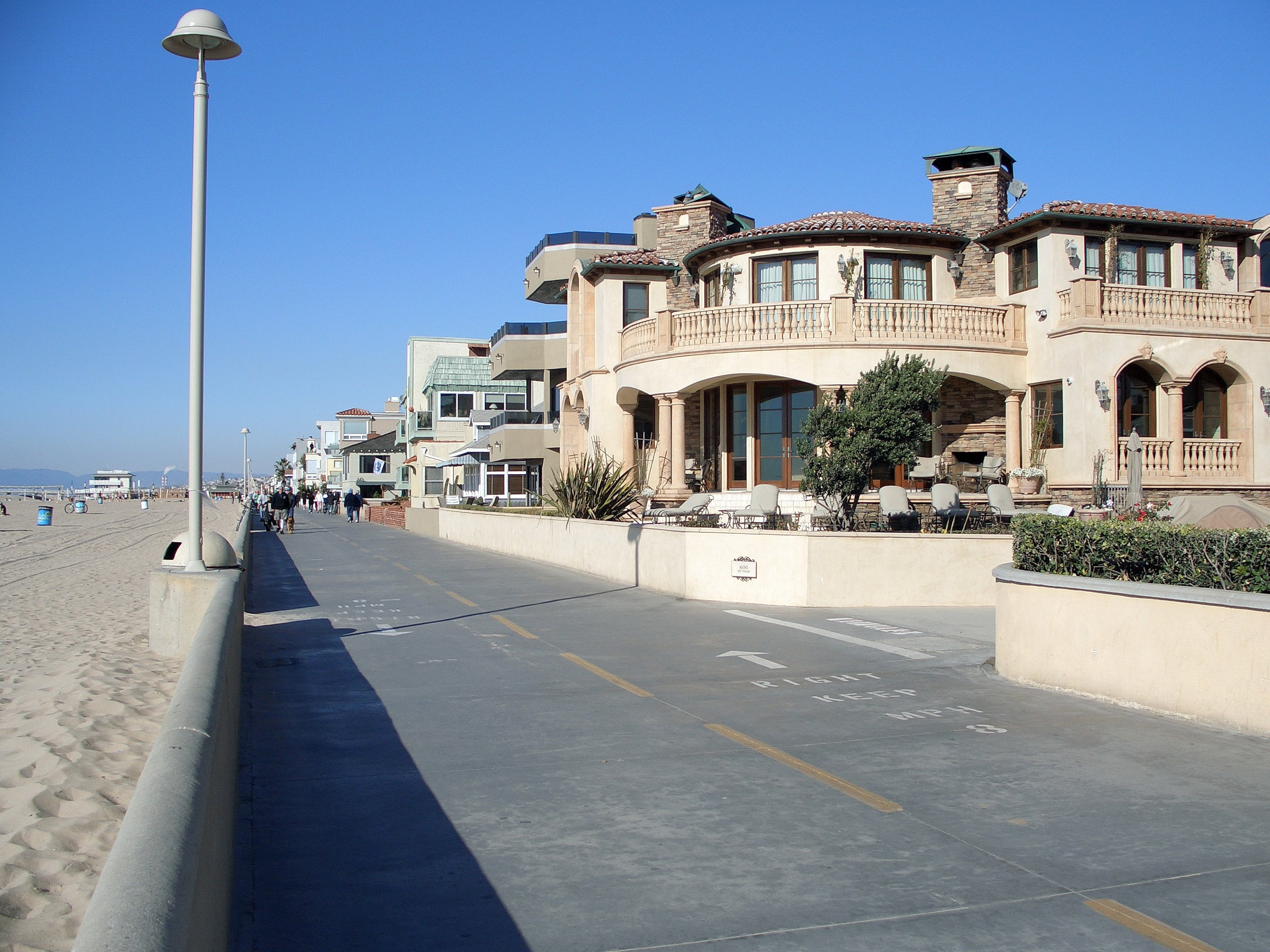 Th Street Manhattan Beach California In