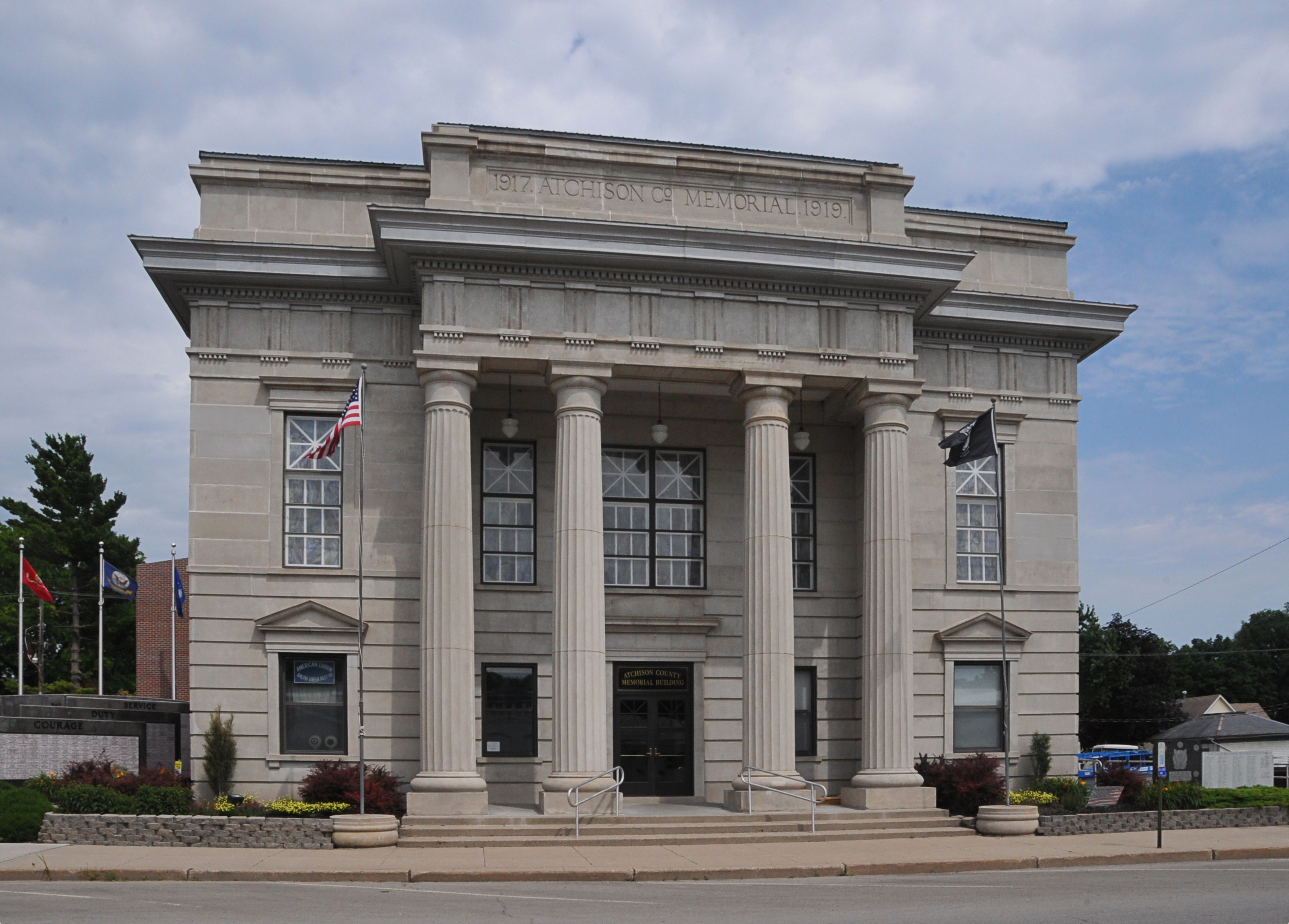 atchison county dating Past news notices museum now on  the original counter- dating back to the building of the courthouse  attorney who cleaned up atchison county government.