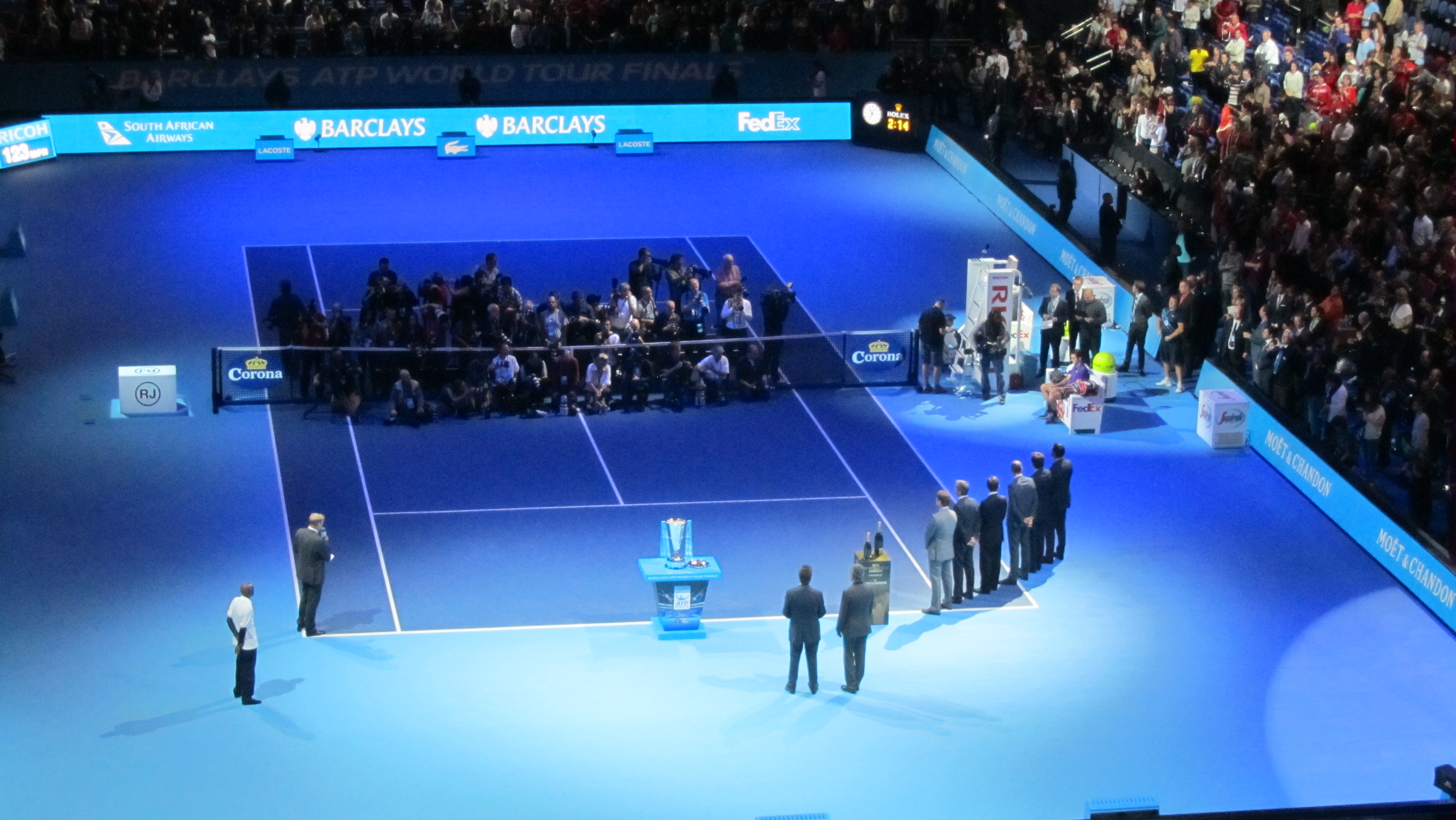 File Atp World Tour Finals At The O2 Singles Ceremony 8325905982