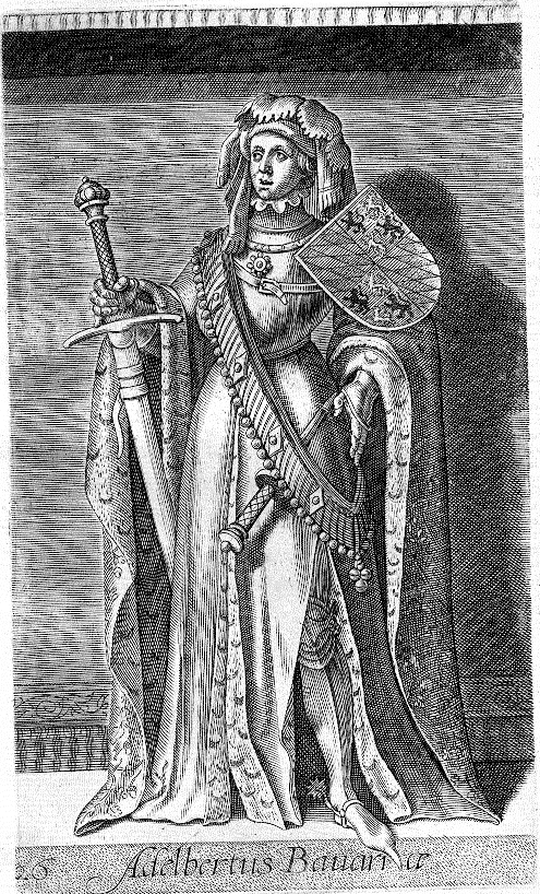 Depiction of Alberto I de Baviera