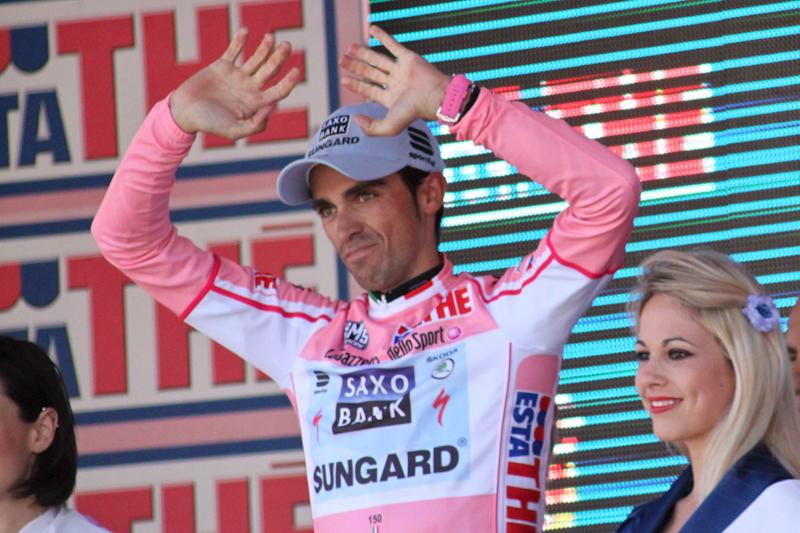 Geslaagde aprilgrap: Alberto Contador dan toch niet in Ironman Vitoria