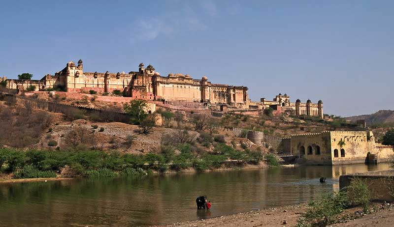 jaipur amer fort beautiful pics images