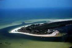 Anclote Key island in the United States of America