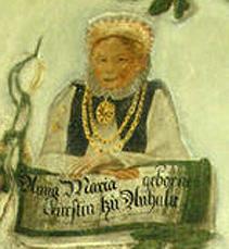 Anna Maria of Anhalt German noblewoman