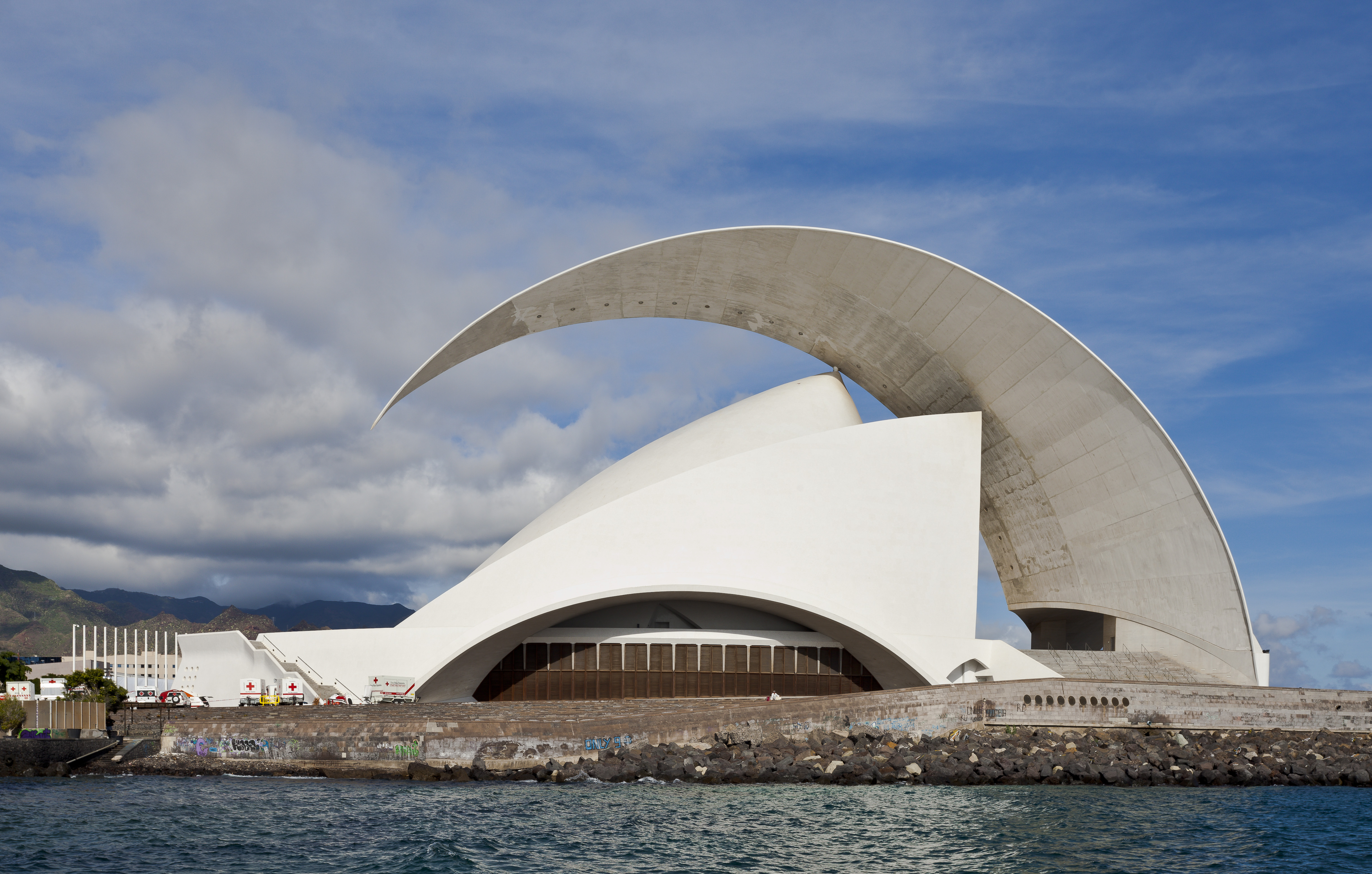 Tenerife Spain  city photos : Auditorio de Tenerife, Santa Cruz de Tenerife, España, 2012 12 ...