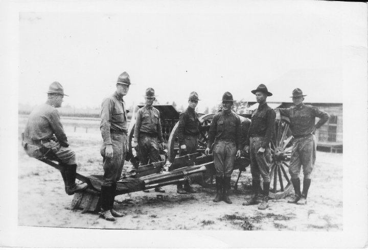 File:Battery A 142d FA at Fort Sill 1930's.jpg