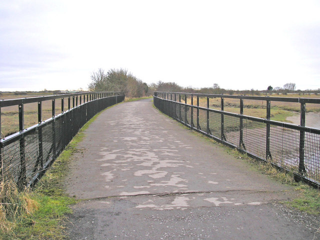 Bridge over the Conder - geograph.org.uk - 1175334
