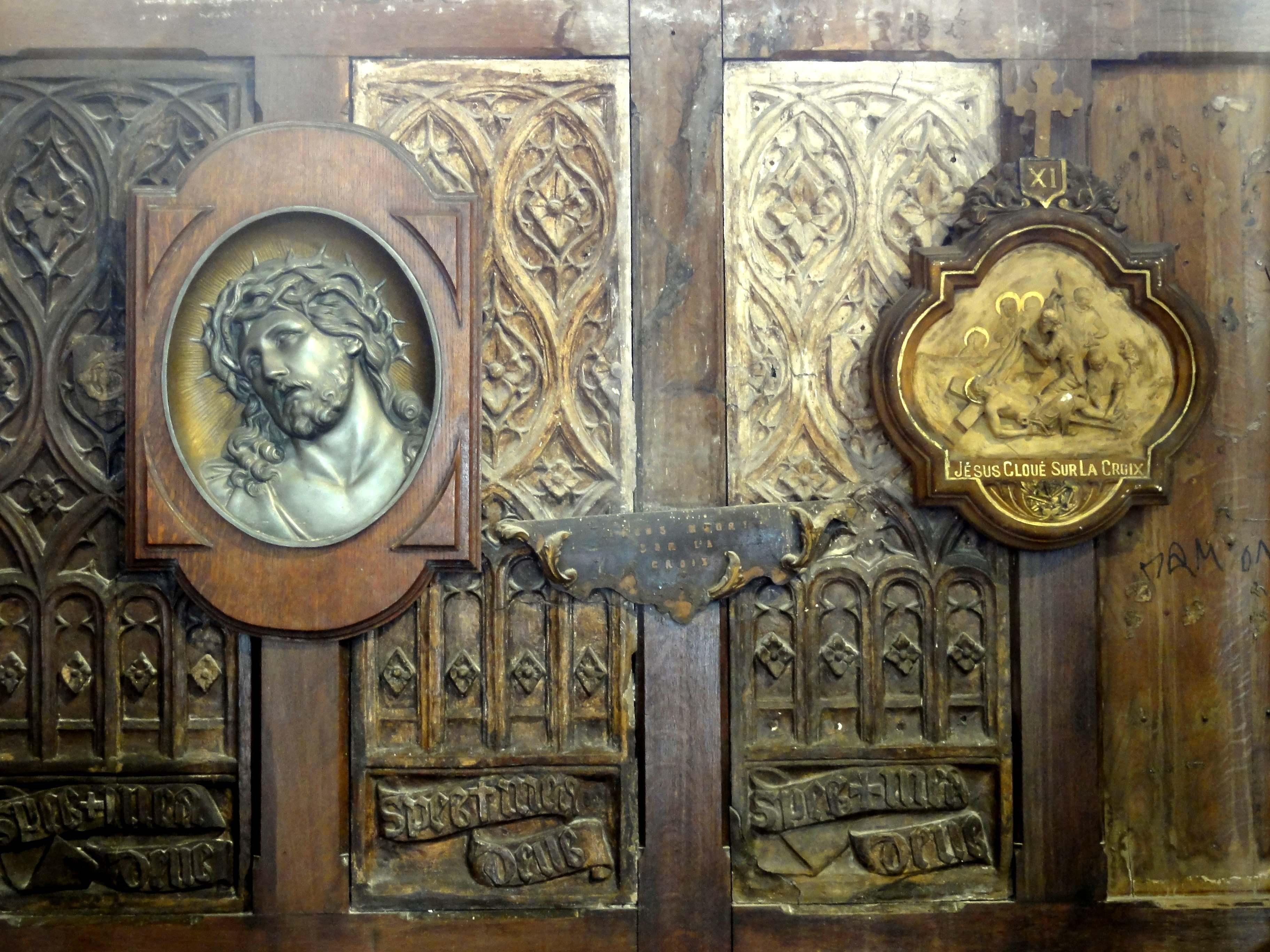 fichier brie comte robert 77 glise saint tienne bas c t sud chapelle de la 5e trav e. Black Bedroom Furniture Sets. Home Design Ideas