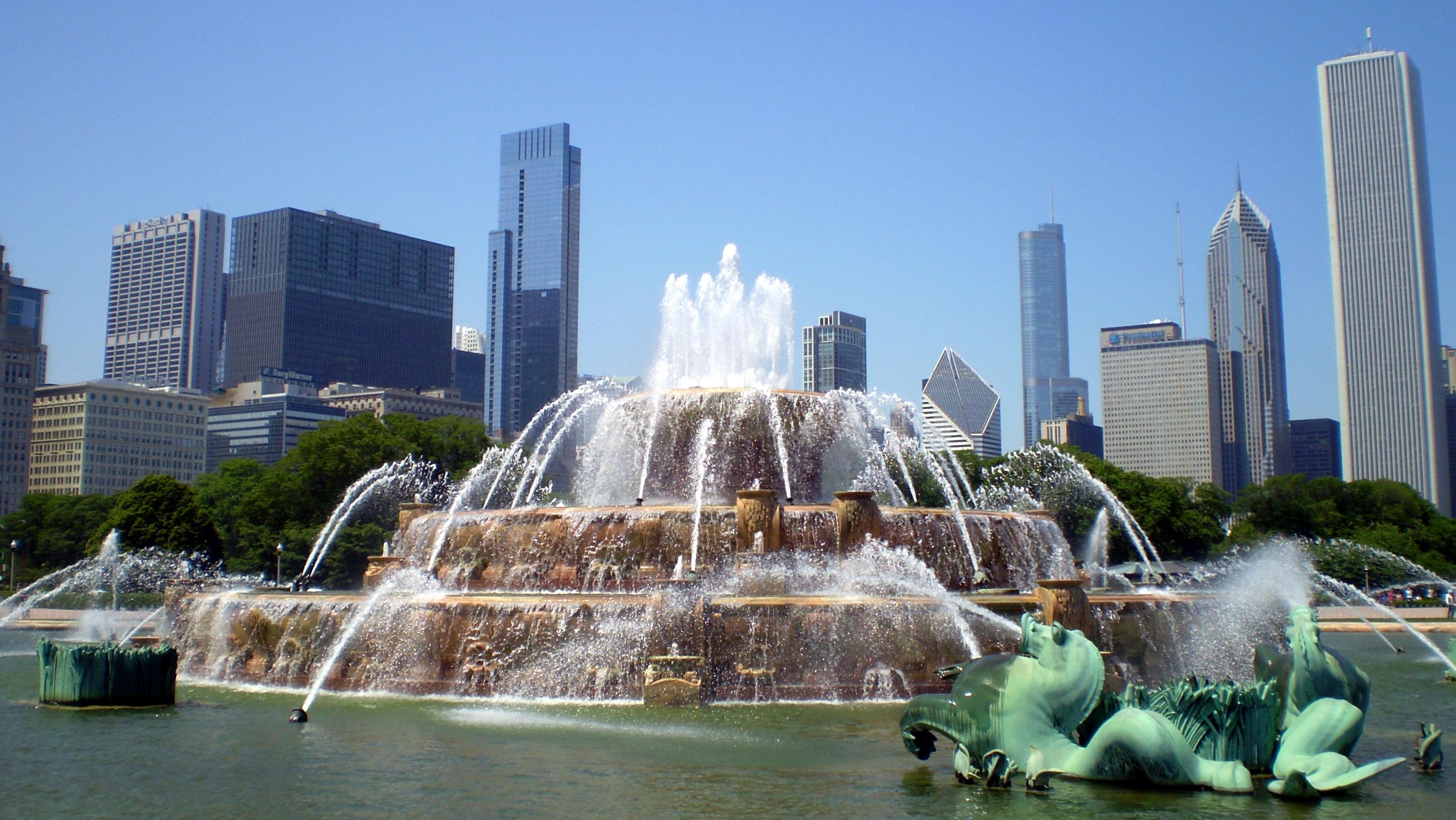 buckingham fountain chicago - photo #2